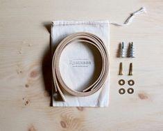 Leather Shelf Straps — La Compagnie Robinson