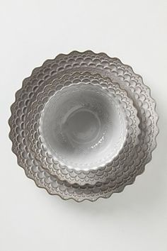 Pretty dishes from Anthropologie.  Ohhhhhhh ~~ I so want these for our new kitchen!