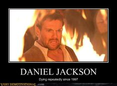 I love Rory Williams (Doctor Who) but Daniel did it first (died repeatedly)!! :)