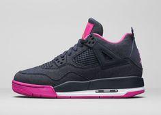 "Girls Air Jordan 4 Retro ""Denim"" - EU Kicks: Sneaker Magazine"