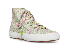 2795 - STRAWBERRY SUGAR – Superga Converse Chuck Taylor High, Converse High, High Top Sneakers, Baby Size Chart, Get Glam, Farrah Fawcett, Printed Ribbon, Surf Style, Cotton Lace