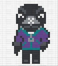 Hama Beads Patterns, Peyote Patterns, Beading Patterns, Pixel Art, Mickey Mouse Centerpiece, Hidden Pictures, Iron Beads, Crafts For Boys, Perler Beads