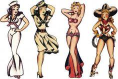Sailor Jerry, Cosplay Girls, Vulture Graffix T Shirt Design… Sailor Jerry Flash, Old Tattoos, Pin Up Tattoos, Body Art Tattoos, Sleeve Tattoos, Navy Tattoos, Arabic Tattoos, Tatoos, Vintage Nautical Tattoo