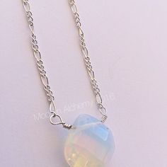 Opalite teardrop necklace