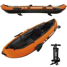 Ruder- & Paddelboote Bestway Schlauchboot RX-4000 Raft Boat Dingy Set Ruder Handpumpe 2 Personen