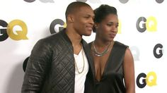 Russell Westbrook and wife