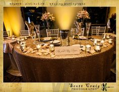 The Grand Bohemian Hotel Orlando was filled with excitement on Dana and Justin's wedding day! We stayed within their glitzy, glamour theme when we created their invitations, table numbers, guestbook, and escort cards; along with chic table signs throughout the reception. Thanks to Scott Craig Photography, Orlando Wedding Photographerfor this lovely snapshot!