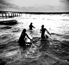 Photography, surf, beach, black and white, Surf Bikini, Surfer Girls, Vans Surf, Surf Mar, My Little Paris, Soul Surfer, Summer Surf, Summer Days, California Surf