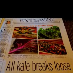 More kale love