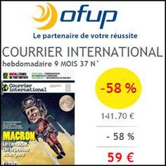 #missbonreduction; Economisez 58 % sur votre abonnement au magazine COURRIER INTERNATIONAL chez Ofup. http://www.miss-bon-reduction.fr//details-bon-reduction-Ofup-i349-c1828718.html