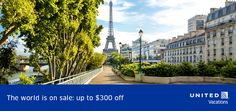 The World is on Sale! Save $300 - https://traveloni.com/vacation-deals/the-world-is-on-sale-save-300/ #travel #deals #vacation #united
