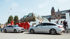#UrbanDiscovery – The third stage with CLA Coupé C 117 and CLA Shooting Brake X 117 starts in Amsterdam.