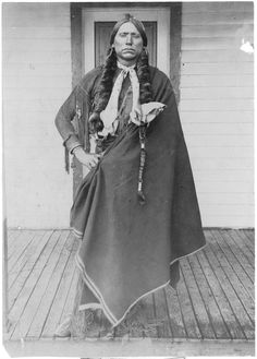 themotart-journal.com  Quanah Parker was the son of Chief Peta Nocona  and Cynthia Ann Parker. Last chief of the Quahadi Comanche
