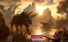 Sẽ thế nào nếu khủng long chung sống với con người? - http://www.iviteen.com/se-the-nao-neu-khung-long-chung-song-voi-con-nguoi/  Nếu loài khủng long còn tồn tại cho tới ngày nay, liệu bạn có nghĩ chúng ta có thể cưỡi khủng long dạo chơi như cưỡi ngựa không?          Các nhà khoa học cho rằng, cách đây 66 triệu năm – một mảnh thiên thạch đã rơi xuống Trái đất – gián tiếp gây ra