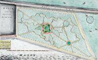 Plattegrond van de [Oude] Plantage. Datering:1814