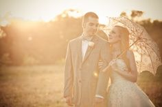 If you are in need of a little sweetness after the Super Bowl weekend you have certainly come to the right place. This wedding by Miranda Laine Photography is sure to charm and bewitch you with its absolutely perfect mix of