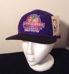 NWT Vintage 95 NBA ALL STAR WEEKEND SNAPBACK HAT Purple Phoenix Suns   SportsSpecialties  NBA 231f279c736a