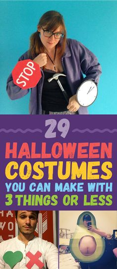 29 Halloween Costumes You Can Make With 3 Things Or Less