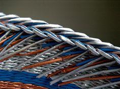 Perm, Weaving, Blog, Baskets, Upcycling, Hampers, Paper Envelopes, Bricolage, Blogging