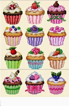 79 best cupcake images in 2018 Cupcake Cross Stitch, Kawaii Cross Stitch, Cactus Cross Stitch, Small Cross Stitch, Butterfly Cross Stitch, Cross Stitch For Kids, Cross Stitch Kitchen, Cross Stitch Bookmarks, Cute Cross Stitch