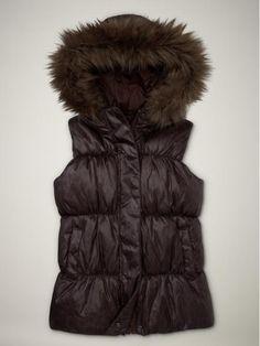 Gap Fur Puffer vest