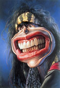caricature of Steven Tyler Cartoon Faces, Funny Faces, Cartoon Art, Funny Caricatures, Celebrity Caricatures, Steven Tyler, Caricature Drawing, Photo D Art, Wow Art