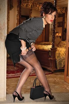 Premier French Heel Full Fashioned Nylon Stocking $29.99