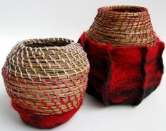 Pippa Andrews - Gallery Textiles, Art Forms, Old Things, Wraps, Gallery, Wrapping, Baskets, Bear, Artists