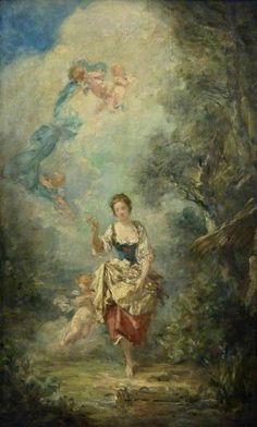 Follower of Jean-Honoré Fragonard, 'Summer', c. 1790-1810.