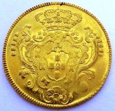 OURO 6400 RÉIS DO BRASIL COLÔNIA - MARIA I - 1788 BAHIA..