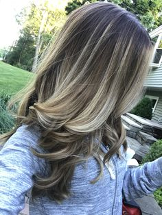 Hair Balayage Technique Blondes Ideas – Welcome My World Brown Blonde Hair, Light Brown Hair, Light Hair, Ashy Blonde, Hair Color Balayage, Hair Highlights, Ombre Hair, Hair Lights, Long Layered Hair