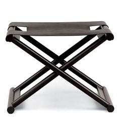 Bazane Stool from Christian Liaigre. Christian Liaigre is represented at Seattle Design Center's Susan Mills Showroom. Ottoman Stool, Bench Stool, Bench Furniture, Furniture Design, Furniture Board, Christian Liaigre, Contemporary Furniture, Contemporary Benches, Home Furnishings