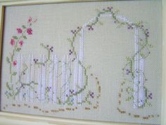 Into the Garden Softly Cross Stitch Pattern by CalendulaStitches, $5.00