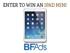 This weekend is the #SummerSolstice and we're giving away an iPad MINI! #BFAds