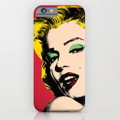 Buy Marilyn Monroe  by Mark ashkenazi as a high quality iPhone & iPod Case. Worldwide shipping available at Society6.com. Just one of millions of products…