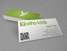 Yelho Kids by Eric Ratshili , via Behance