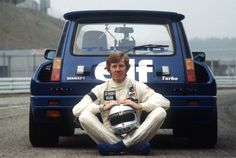 Walter Rorhl and Renault 5 Turbo midi
