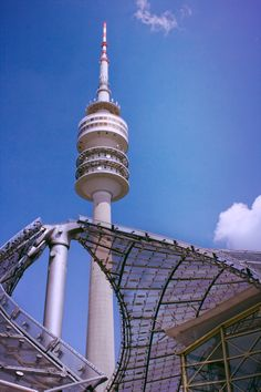 Tower in Olympic Park in Munich, Germany (photo by Hecktic Travels)