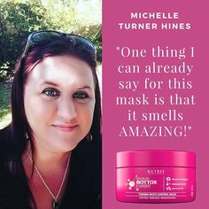 """Michelle Turner Hines about Brazilian Bottox Expert:""""I'll be testing this @nutreeusa Brazilian Botox Expert Thermo Multi-Control Hair mask out today. I'm super excited to see how it works. One thing I can already say for this mask is that it smells AMAZING!! Ladies, how many of you use a hair mask and what is your favorite brand? Check out this mask. You can order on Amazon here 👉http://a.co/6whyrVf """"#nutreeprofessional #bottoxexpert #hairstyle #goodbyefrizz #hairbotox #hairbotoxtreatment…"""