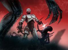 Aliens VS Robocop