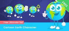 Free Vector Clipart, Vector Shapes, Action Poses, Clip Art, Earth, Cartoon, Character, Best Practice, Cartoons