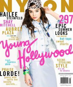 NYLON May 2014  Hailee Steinfeld