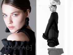 EMBRACE BRAND is an emerging contemporary fashion brand.The brand speaks to women with a strong personal identity and an eclectic and innate style. Personal Identity, Contemporary Fashion, Design Process, Fashion Brand, Ruffle Blouse, Feminine, Strong, Inspiration, Women