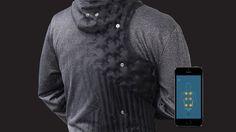 AiraWear - O primeiro moletom massageador do mundo - Stylo Urbano #moda #tecnologia #wearables