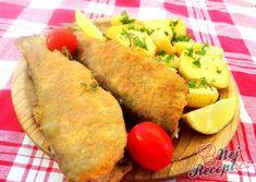 Smažený pstruh s brambory | NejRecept.cz Sweet Potato, Mexican, Potatoes, Vegetables, Ethnic Recipes, Potato, Vegetable Recipes, Mexicans, Veggies