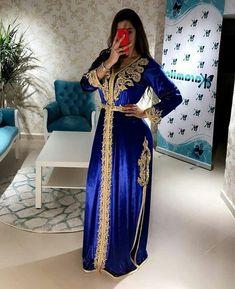 caftan haute couture de luxe chic Morrocan Dress, Moroccan Caftan, Arab Fashion, Muslim Fashion, Punk Fashion, Lolita Fashion, African Traditional Dresses, Traditional Fashion, Muslim Wedding Dresses