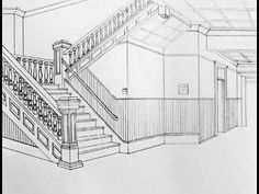 Simple Way To Draw A One and Two-Point Perspective, with ...