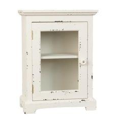 Armoire buffet petit format meuble d'appoint vitrine