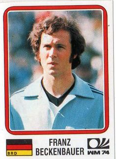 Germany Franz Beckenbauer 63 Panini 1994 Quotworld Cup