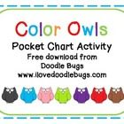 This is a simple little matching activity that is great for a pocket chart. It includes the ten basic colors and color words.Can also be used on ...